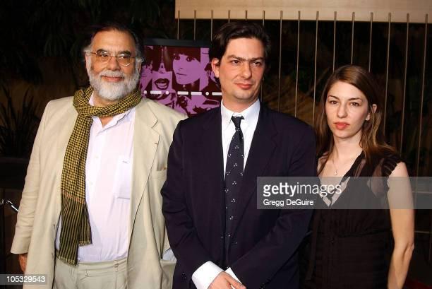 Francis Ford Coppola, Roman Coppola & Sofia Coppola