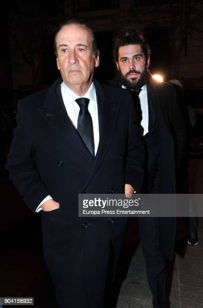 Francis Franco attends the funeral mass for Carmen Franco daughter of the dictator Francisco Franco at the Francisco de Borja church on January 11...