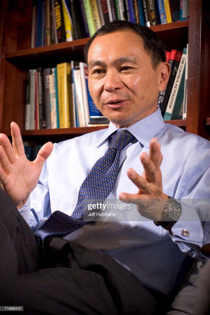 Francis Fukuyama Portraits : News Photo