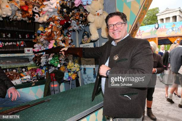 Francis Fulton Smith during the opening of the Oktoberfest 2017 at Theresienwiese on September 16 2017 in Munich Germany
