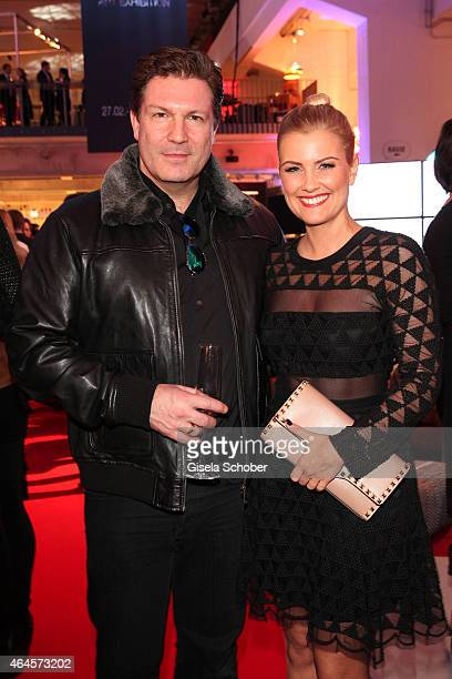Francis Fulton Smith Sophia Thomalla during the Pre Opening Event Exhibition Insights by Mayk Azzato presented by KARE Kraftwerk on February 26 2015...