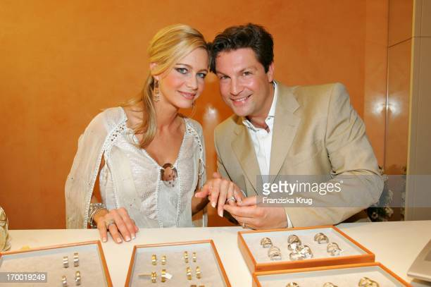 Francis FultonSmith and his wife Verena At The Store Opening 'Nonhoff Marrying' in Munster