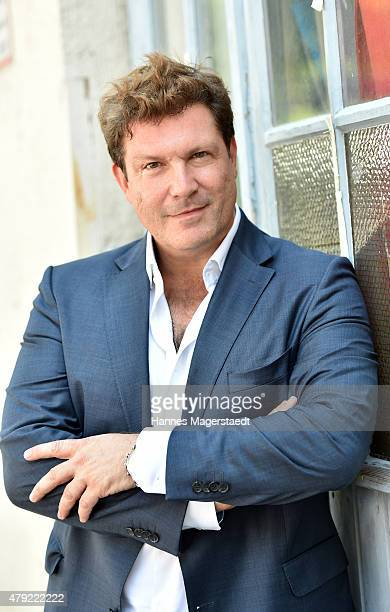 Francis FultonSmith attends the FFF reception during the Munich Film Festival at Praterinsel on July 2 2015 in Munich Germany