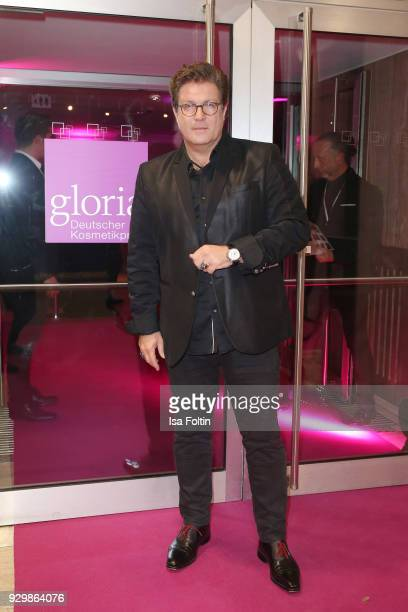 Francis FultonSmith attends the Gloria Deutscher Kosmetikpreis at Hilton Hotel on March 9 2018 in Duesseldorf Germany