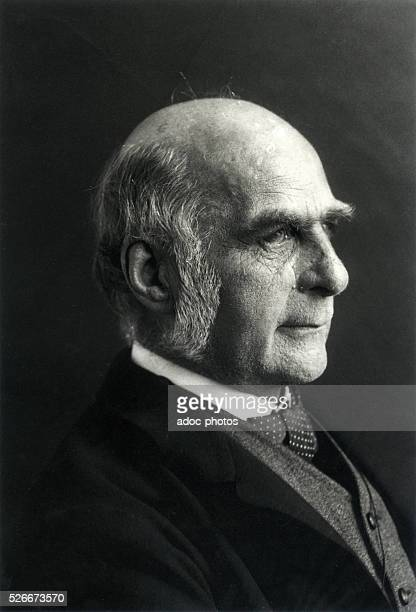 Francis Galton British man of science born in Sparkbrook Ca 1890