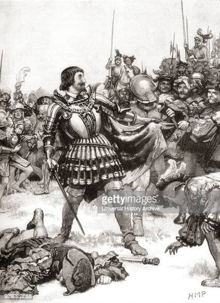 Francis I of France surrenders at The Battle of Pavia, 24 February 1525. Francis I, 1494 – 1547. Monarch of the House of Valois who ruled as King of...