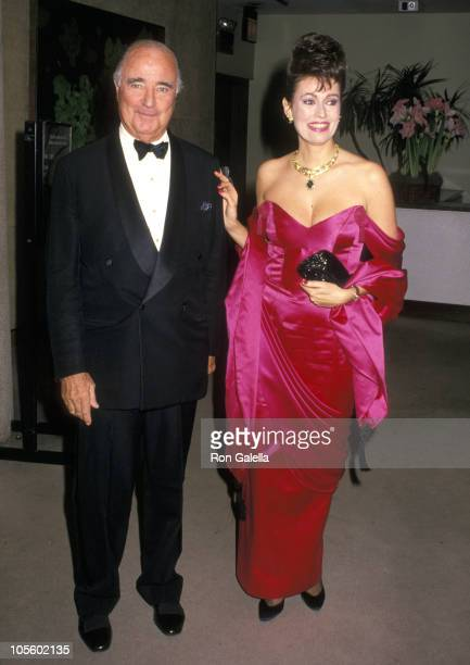 Francis Kellogg and Antonia DePortago during SOS Animals 1st Annual Benefit Dinner at Sotheby's Restaurant in New York City, New York, United States.
