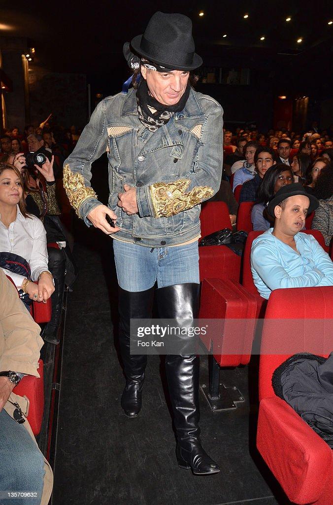 'Un Marocain A Paris' - Premiere At Theatre du Temple