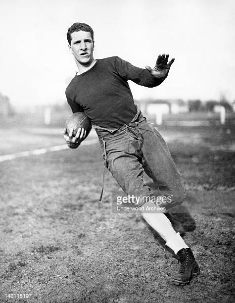 Francis Layden left halfback for Notre Dame Notre Dame Indiana December 13 1934 He is the younger brother of Elmer Layden who is not only the coach...