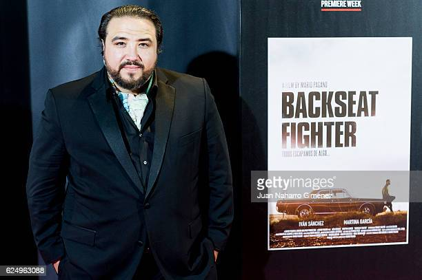 Francis Martin attends 'Backseat Fighter' premiere during the Madrid Premiere Week at Callao Cinema on November 21 2016 in Madrid Spain