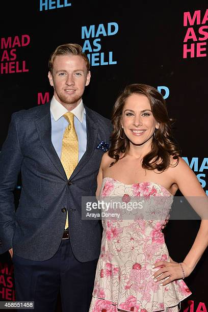 Francis Maxwell and Ana Kasparian attend the The Young Turks Documentary 'Mad as Hell' Los Angeles Premiere at Harmony Gold Theatre on November 6...