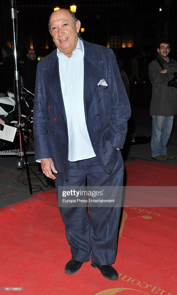 Francis Montesinos attends 'Yo Dona' magazine mask party on February 18, 2013 in Madrid, Spain.