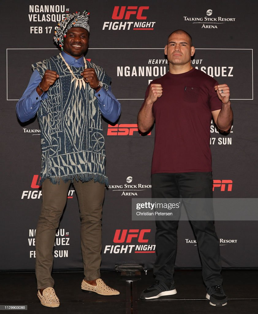 AZ: UFC Fight Night Ngannou v Velasquez: Ultimate Media Day