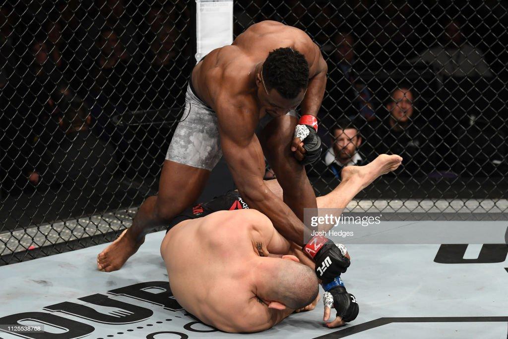 UFC Fight Night: Ngannou v Velasquez : News Photo