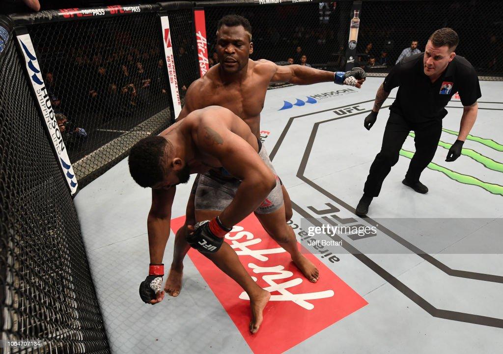 UFC Fight Night: Blaydes v Ngannou 2 : News Photo