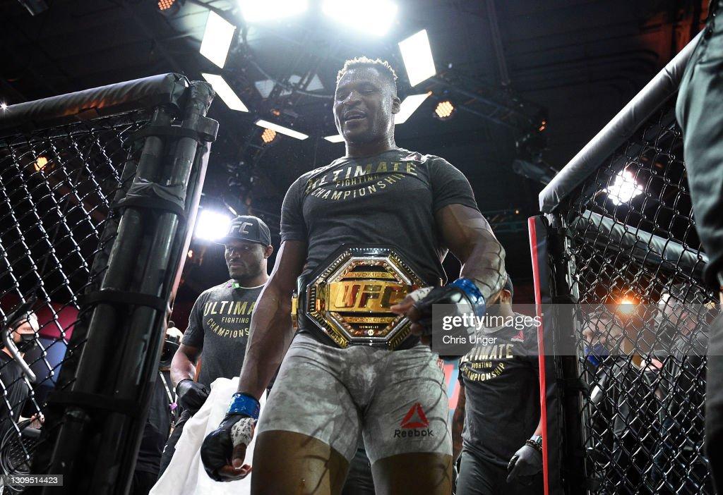 UFC 260: Miocic v Ngannou 2 : News Photo
