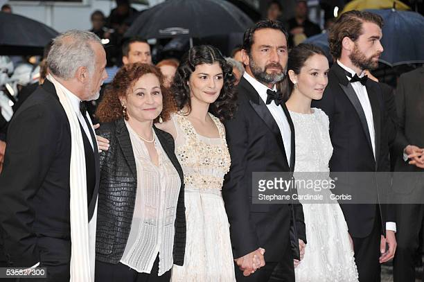 Francis Perrin Catherine Arditi Audrey Tautou Gilles Lellouche and Stanley Weber at the Closing Ceremony and the premiere for 'Therese Desqueyroux'...