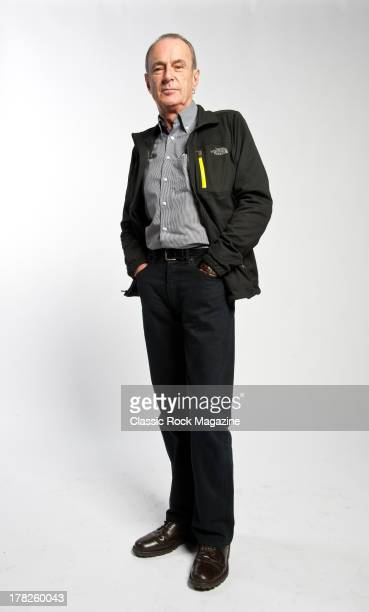 Francis Rossi lead guitarist and vocalist of English rock band Status Quo photographed during a portrait shoot for Classic Rock Magazine November 13...