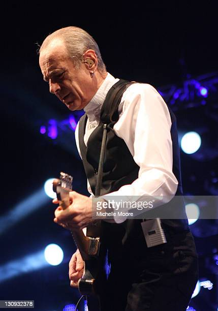 Francis Rossi of Status Quo performs at NEC Arena on December 4 2010 in Birmingham England