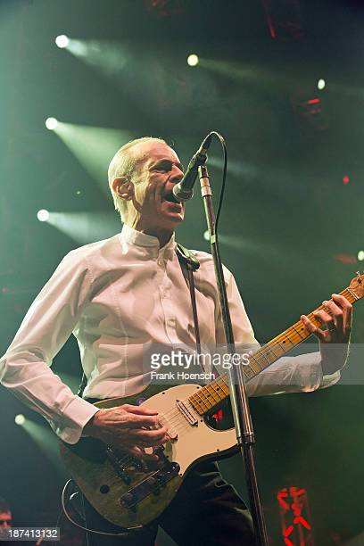 Francis Rossi of Status Quo performs live during a concert at the MaxSchmelingHalle on November 8 2013 in Berlin Germany