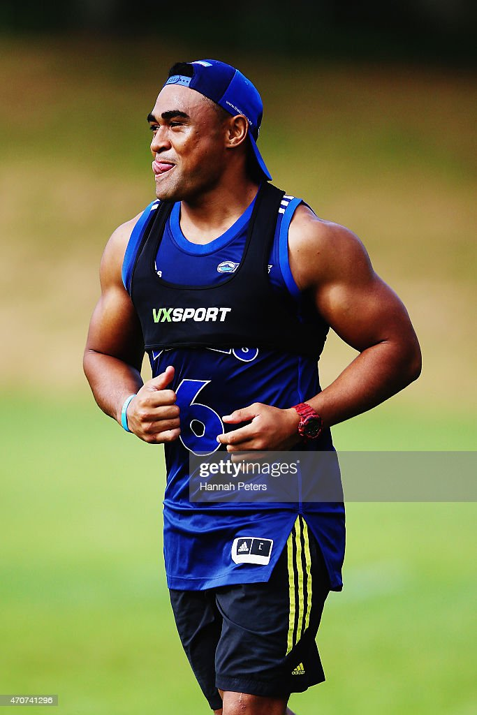Auckland Blues Training Session