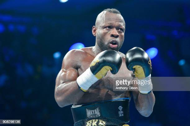 Francis Togba Tchoffo during the Main Event 5 in Salle Marcel Cerdan on January 19 2018 in Paris France