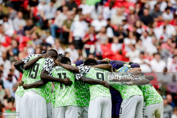 Francis Uzoho of Nigeria Tyronne Ebuehi of Nigeria William Troost Ekong of Nigeria Leon Balogun of Nigeria John Ogu of Nigeria Victor Moses of...