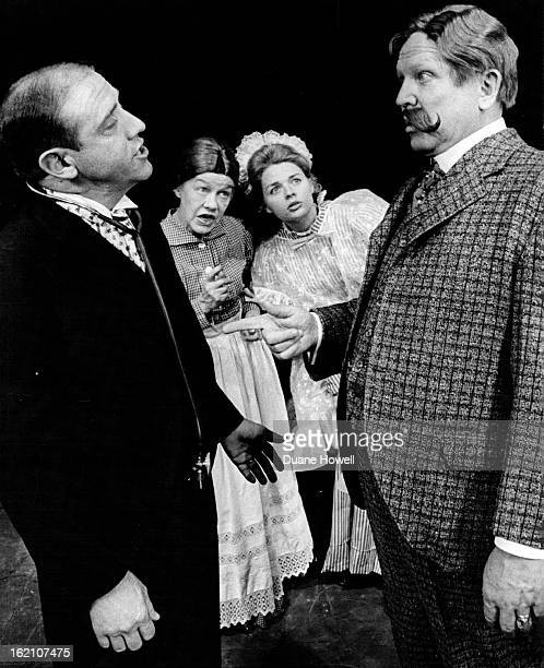 NOV 9 1966 NOV 10 1966 NOV 13 1966 Francis Van Derbur right in the title role of Life With Father attempts to tell the doctor played by Ned Austin...