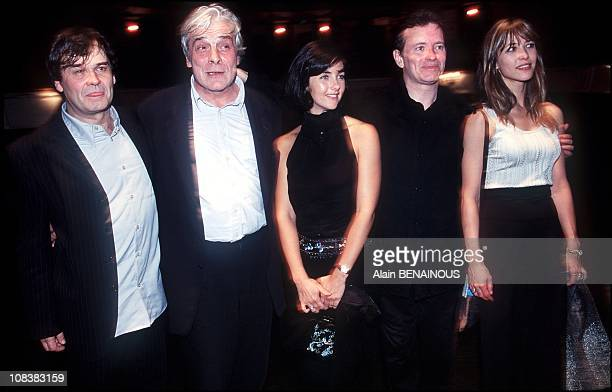 Francis Weber Cristina Reali Francis Huster and Sophie Marceau in France on September 11 2000