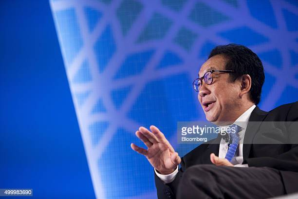 Francis Yeoh managing director of YTL Corp speaks at the Bloomberg ASEAN Business Summit in Bangkok Thailand on Friday Dec 4 2015 Business leaders in...