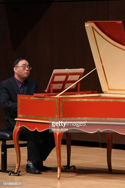 Francis Yun on harpsichord plays the music of Francois Couperin in the Juilliard School's Historical Performance L'Art de toucher le clavecin at Paul...