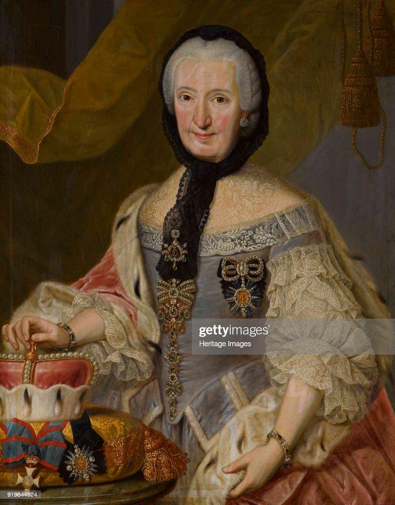 Francisca Christina Of The Palatinate-Sulzbach (1696-1776) Princess-Abbess Of Essen And Thorn. : Fotografía de noticias