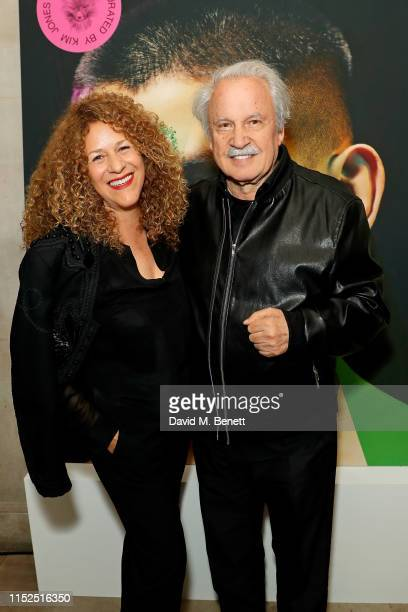 Francisca Gutierrez and Giorgio Moroder attend Dior_A Magazine Curated By Kim Jones Launch Party at Two Temple Place on May 29 2019 in London England