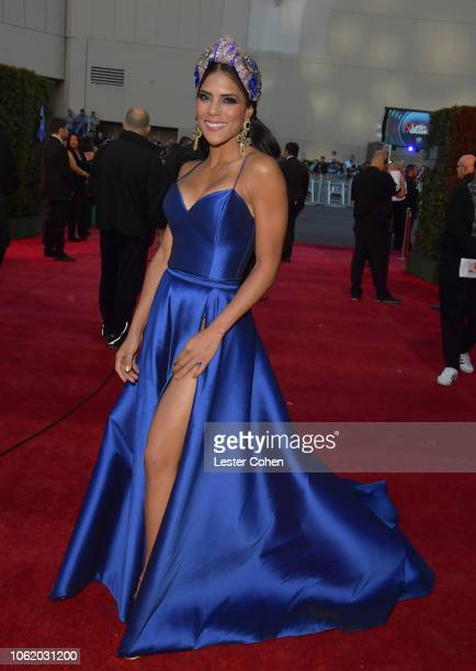 Francisca Lachapel attends the 19th annual Latin GRAMMY Awards at MGM Grand Garden Arena on November 15 2018 in Las Vegas Nevada