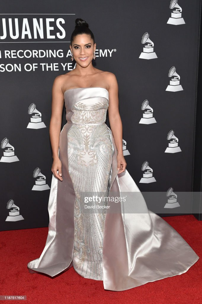 The 20th Annual Latin GRAMMY Awards- Person Of The Year Gala – Arrivals : News Photo
