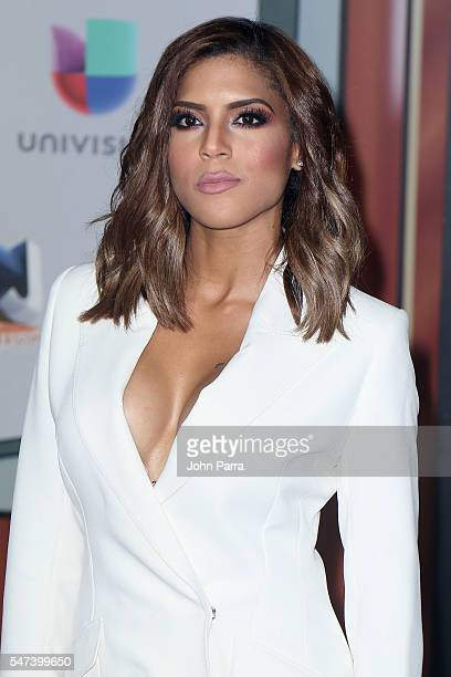 Francisca Lachapel attends the Univision's 13th Edition Of Premios Juventud Youth Awards at Bank United Center on July 14, 2016 in Miami, Florida.