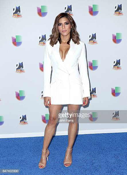 Francisca Lachapel attends the Univision's 13th Edition Of Premios Juventud Youth Awards at Bank United Center on July 14 2016 in Miami Florida