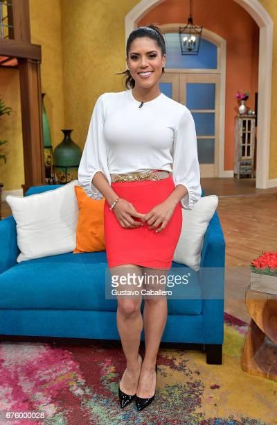 Francisca Lachapel attends the Univision's 'Despierta America' on May 2 2017 in Miami Florida