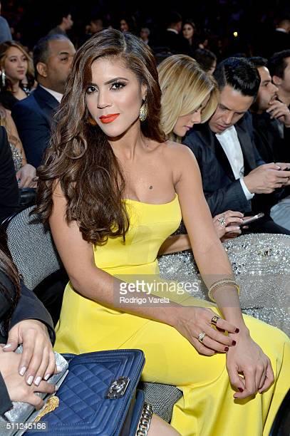 Francisca Lachapel attends Univision's 28th Edition of Premio Lo Nuestro A La Musica Latina on February 18 2016 in Miami Florida