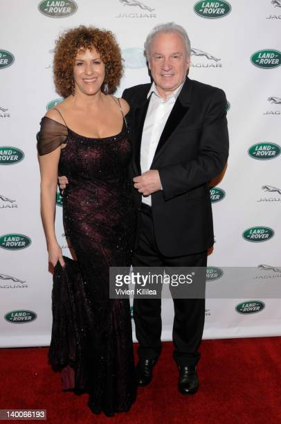 Francisca Moroder and composer Giorgio Moroder attend Hans Zimmer's Oscar Party Hosted By Southern California Jaguar Land Rover on February 26 2012...