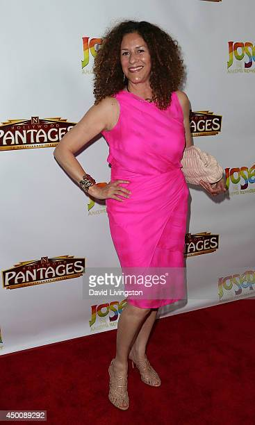 Francisca Moroder attends Los Angeles opening night of Joseph and the Amazing Technicolor Dreamcoat at the Pantages Theatre on June 4 2014 in...