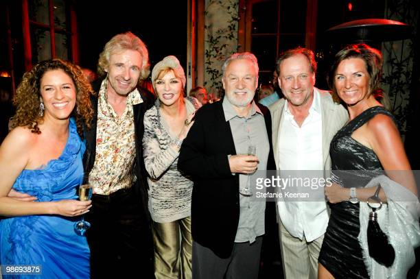 Francisca Moroder Thomas Gottschalk Thea Gottschalk Giorgio Moroder Harold Faktermeyer and Maria Reeb attend Giorgio Moroder's Surprise Birthday...