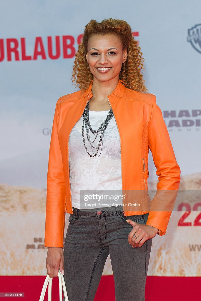 Francisca Urio attends the premiere of the film 'Blended' at