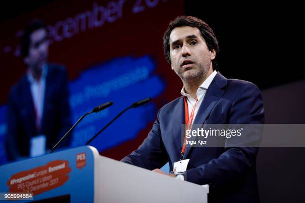 Francisco Andre National Secretary for International Relations of Portuguese Socialist Party in the course of the PES party congress on December 01...