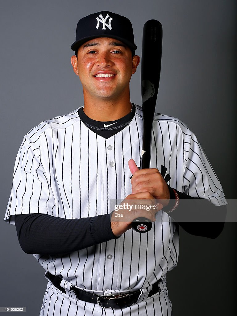 Francisco Arcia #83 of the New York Yankees poses for a portrait on February 27, 2015 at George M. Steinbrenner Stadium in Tampa,Florida.