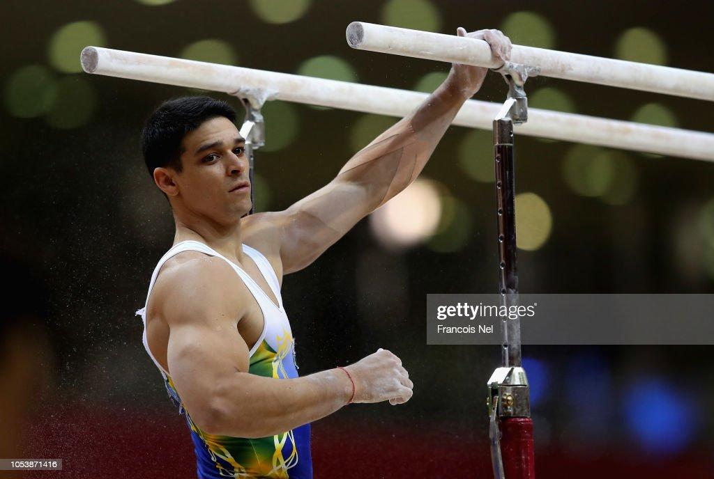 2018 FIG Artistic Gymnastics Championships - Day Two : News Photo