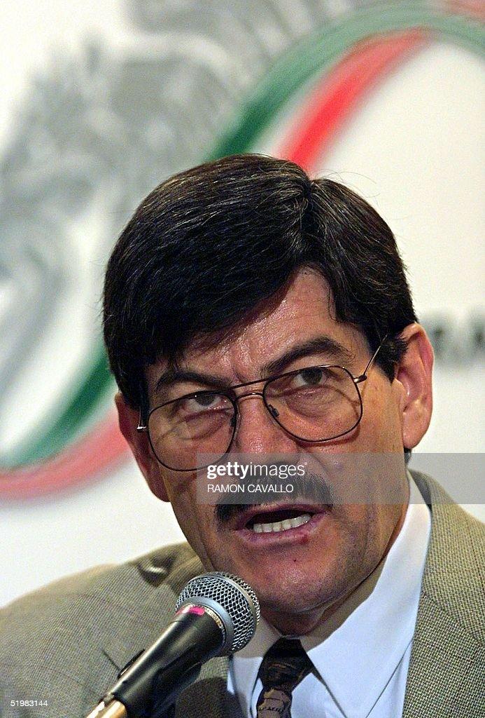 Francisco Barrio Terrazas Secretary Of The Development
