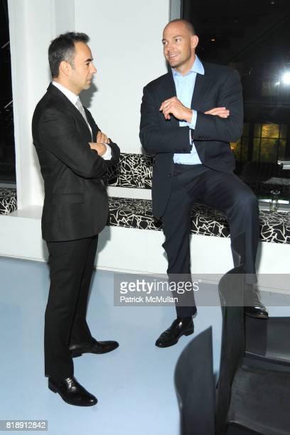 Francisco Costa and Alex von Furstenberg attend DIANE VON FURSTENBERG Dinner In Honor Of CARLOS JEREISSATI at DVF Studios on May 18 2010 in New York...