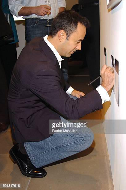 Francisco Costa attends Calvin Klein hosts a party to celebrate Bryan Adams' new photo book American Women to benefit The Society of Memorial...