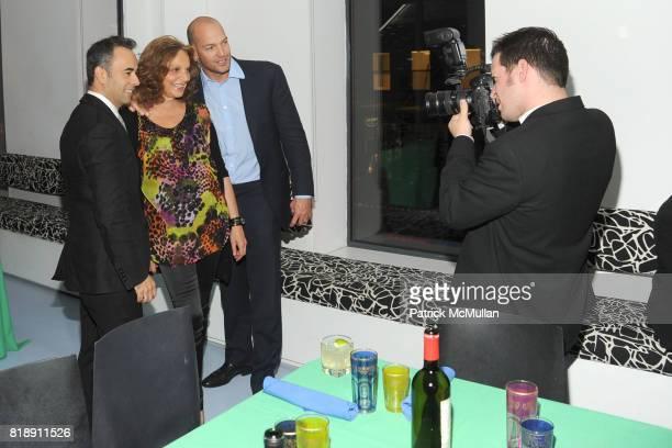 Francisco Costa Diane von Furstenberg and Alex von Furstenberg attend DIANE VON FURSTENBERG Dinner In Honor Of CARLOS JEREISSATI at DVF Studios on...